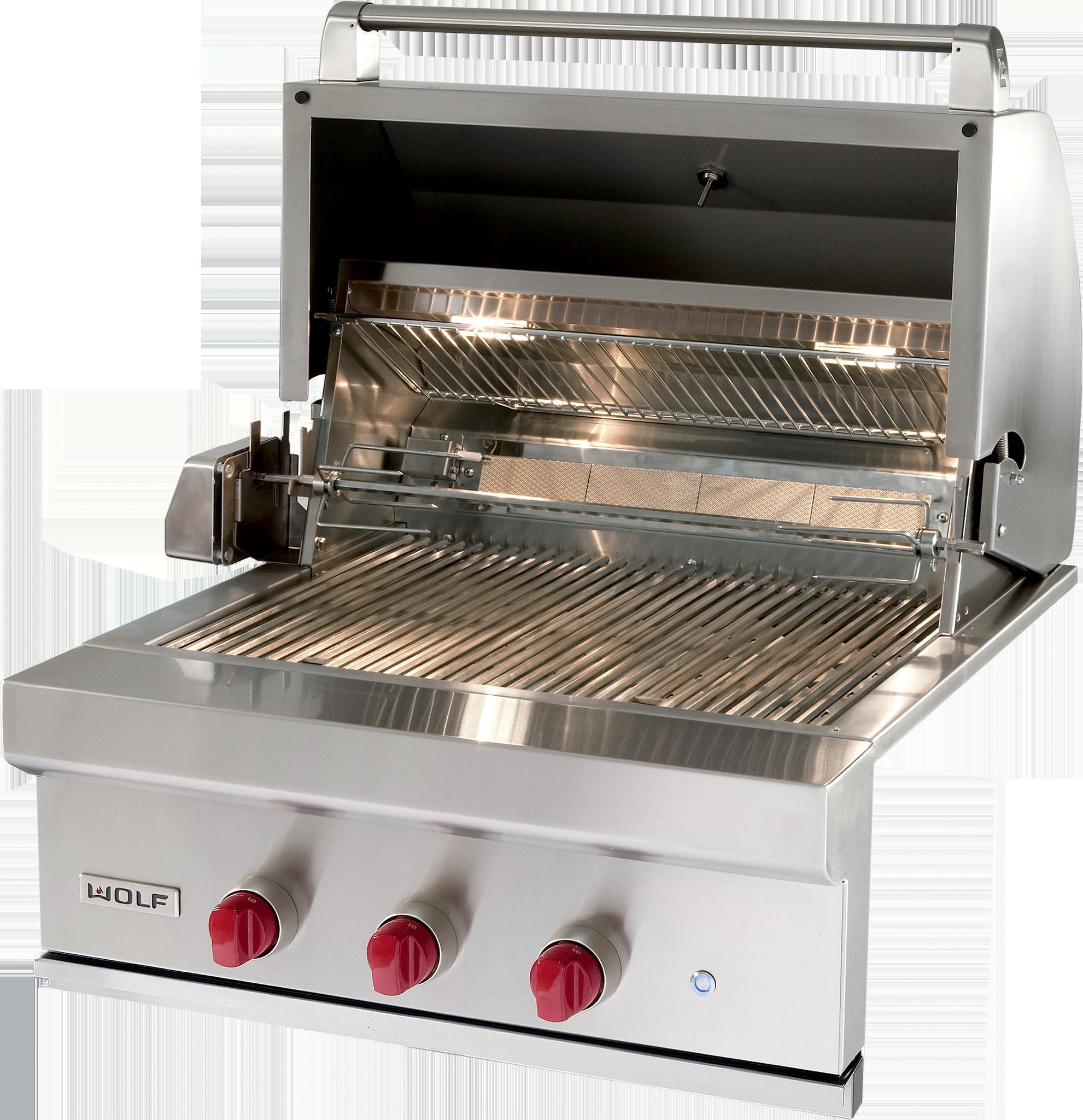 Asadores cocina exterior electrodom sticos sub zero y wolf - Cocinas wolf ...